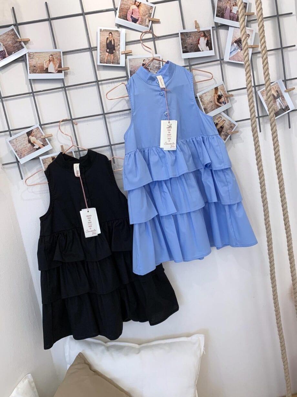 Shop Online Vestitino bimba gale celeste Souvenir Kids