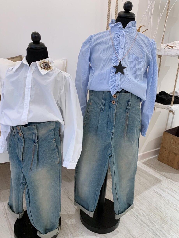 Shop Online Camicia bimba righine Souvenir Kids