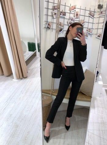 Shop Online Completo giacca e pantalone nero Kontatto