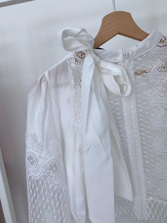 Shop Online Camicia bianca rete e pizzo Have One