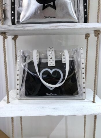 Shop Online Shopper PVC cuore Gio Cellini