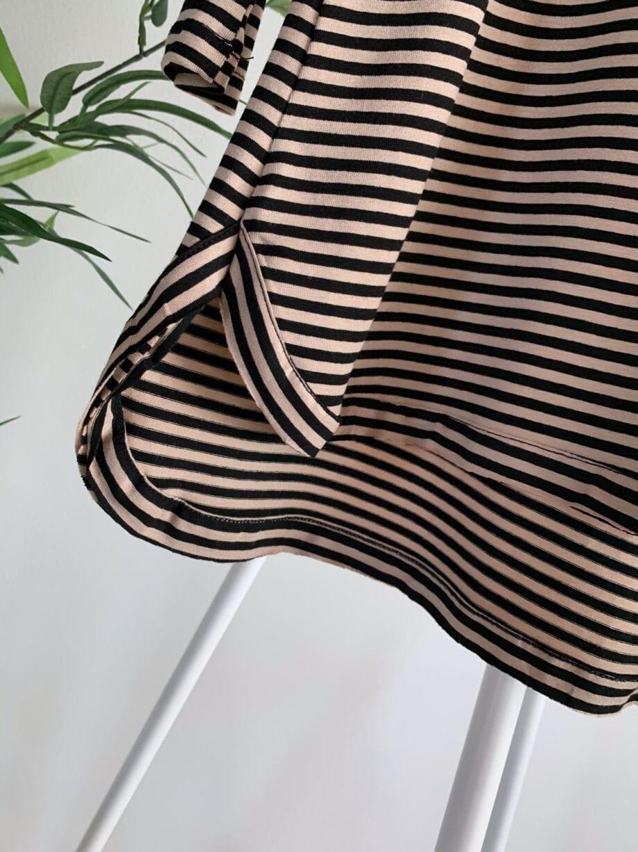 Shop Online Maxi maglia a righe con scritta Souvenir Kids