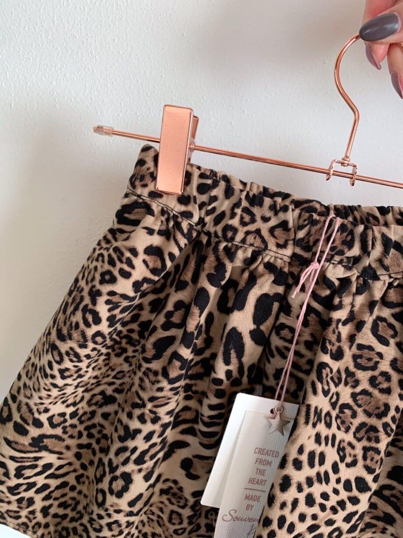 Shop Online Gonna leopardata ampia Souvenir Kids