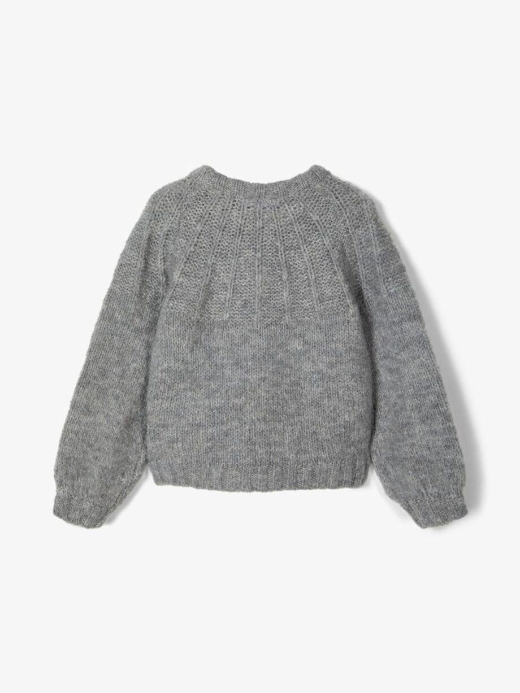Shop Online Maglione grigio con effetto raggera Name It