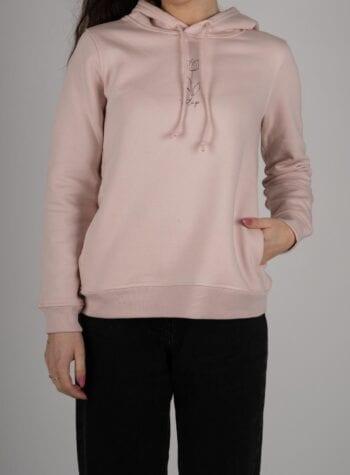 Shop Online Felpa rosa Tulip I AM ME