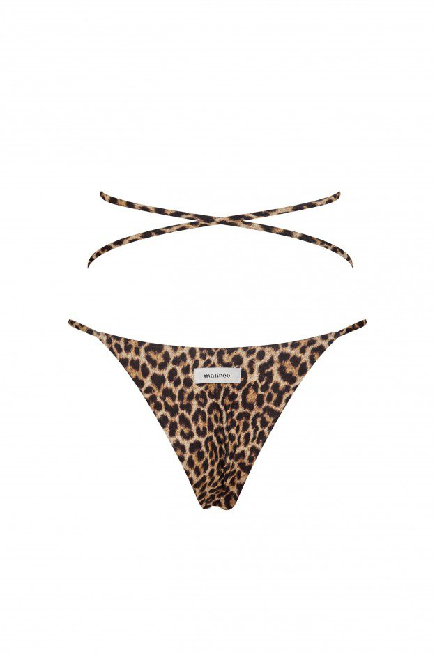 Shop Online Bikini slip Emma banana split nero Matinée