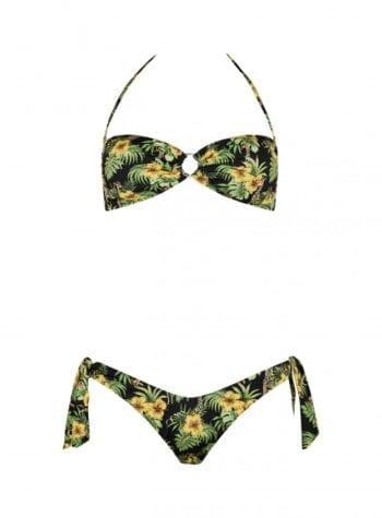 Shop Online Bikini Nadine giraffa nero Matinée