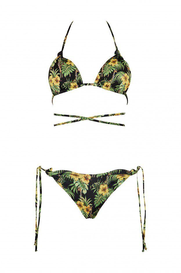 Shop Online Bikini camille giraffa nero Matinée