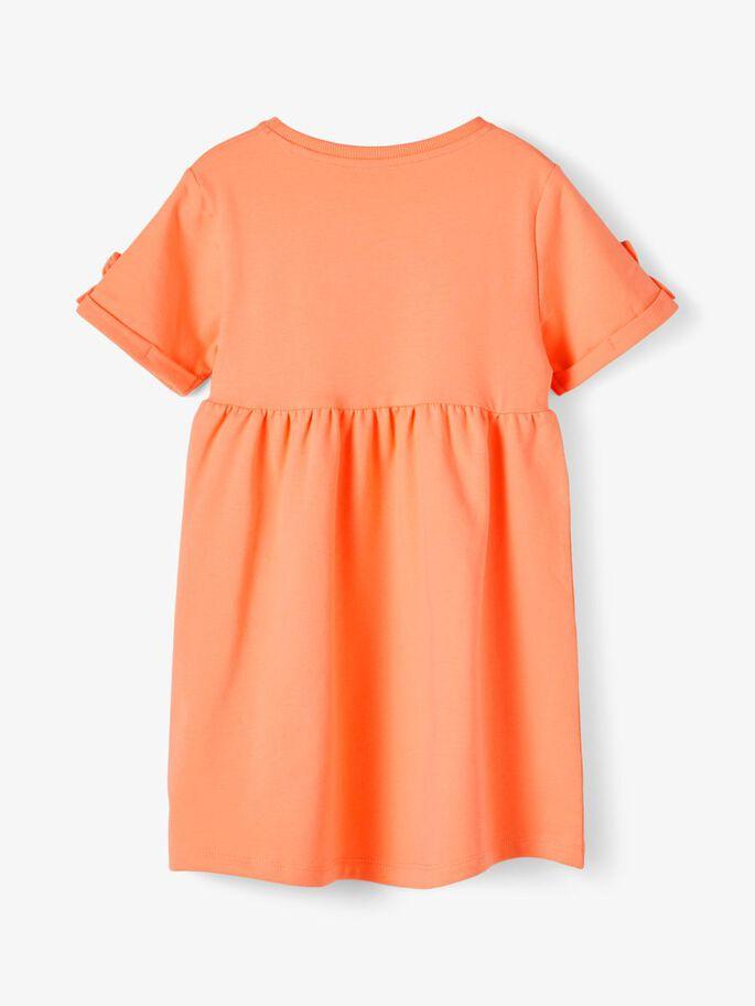 Shop Online Vestito arancione fiocchetti Name It