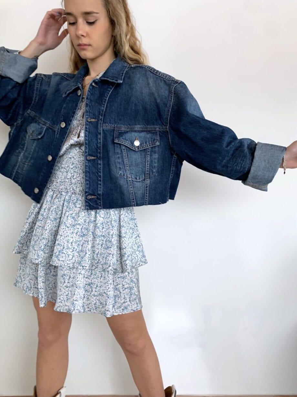 Shop Online Giacchetto jeans corto Souvenir
