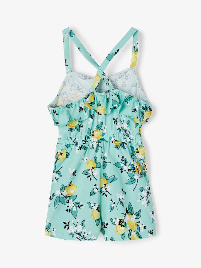 Shop Online Vestito bianco con fiori arancio Name It