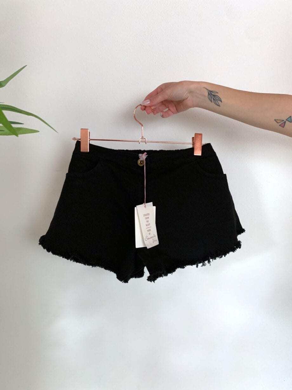 Shop Online Short nero a campanella Souvenir Kids