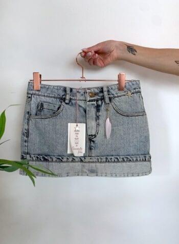 Shop Online Minigonna jeans chiaro Souvenir Kids