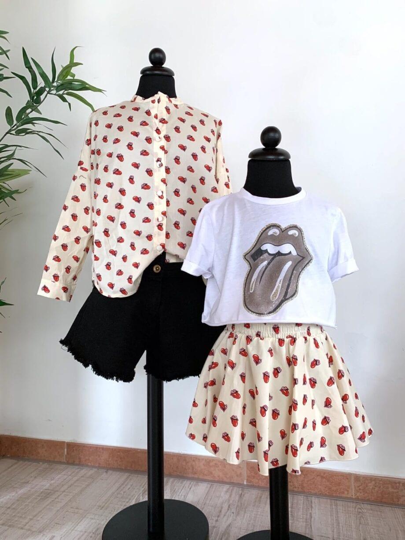 Shop Online T-shirt corta Rolling Stones Souvenir Kids