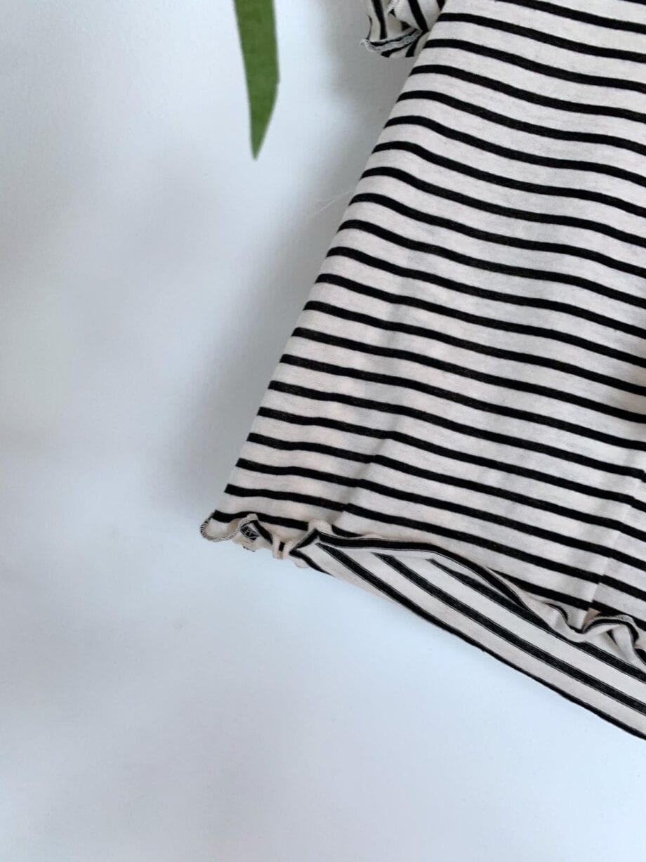 Shop Online T-shirt a righe con applicazioni Souvenir Kids