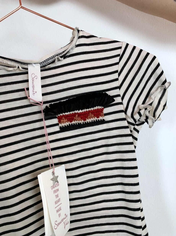Shop Online Felpa a righe e frange Souvenir Kids