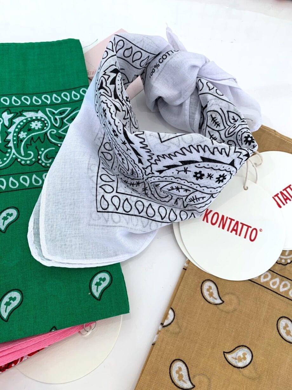 Shop Online Foulard bandana rosa bubble Kontatto
