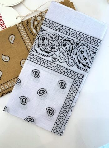 Shop Online Foulard bandana rosa bubble Kontatto