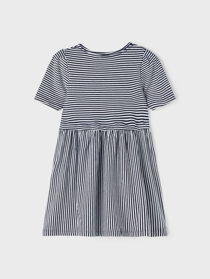 Shop Online Vestito a righe blu e bianche Name it