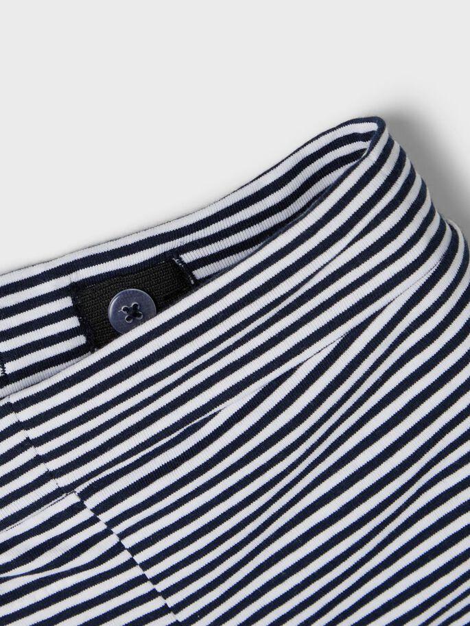 Shop Online Short a righe blu e bianchi Name It