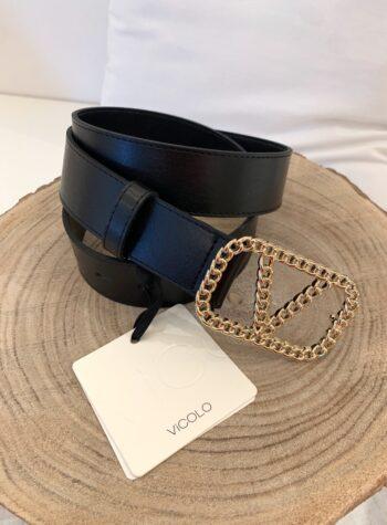 Shop Online Cintura burro fibbia intreccio V Vicolo