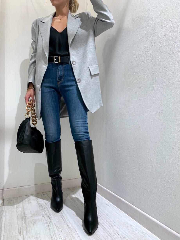 Shop Online Jeans skinny margot scuro Vicolo