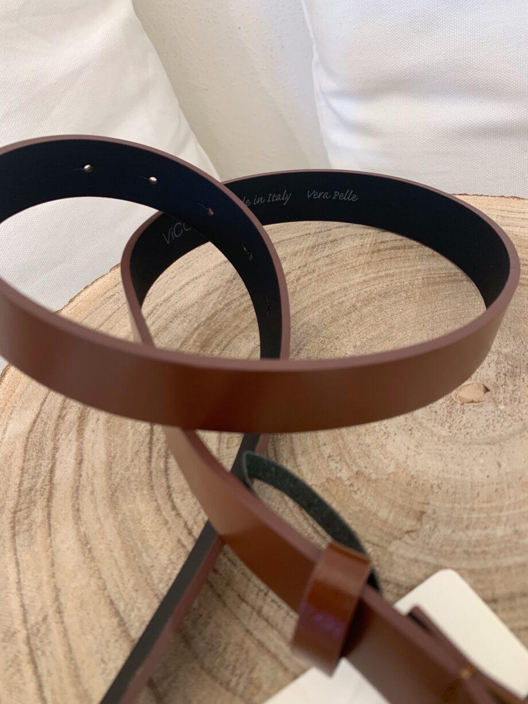 Shop Online Cintura marrone fibbia VCL Vicolo