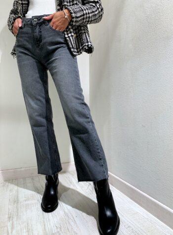 Shop Online Giacca doppiopetto in tweed bianca e nera Kontatto