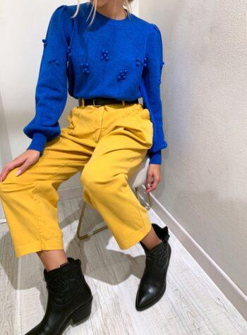 Shop Online Jeans senape a palloncino HaveOne