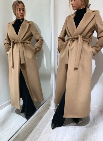 Shop Online Cappotto con fusciacca cammello Souvenir