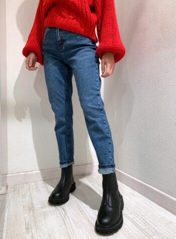 Shop Online Jeans lavaggio scuro a sigaretta Vero Moda