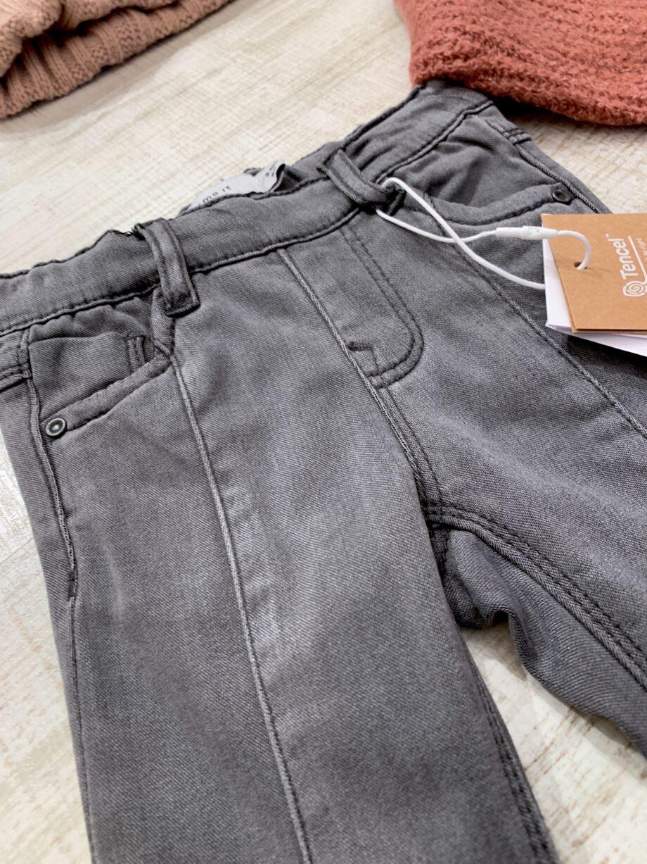 Shop Online Jeans skinny grigio a zampa Name it