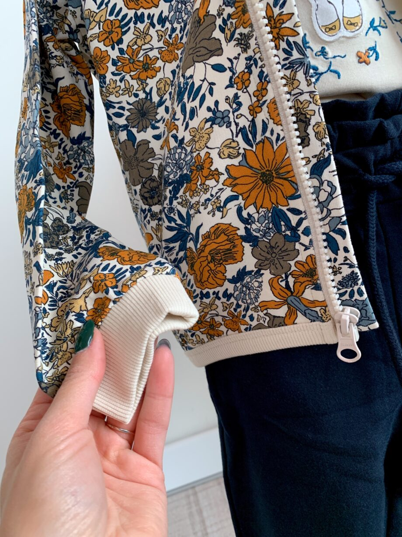 Shop Online Felpa girocollo con stampa floreale Name it