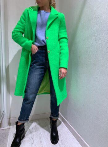 Shop Online Cappotto verde fluo Souvenir
