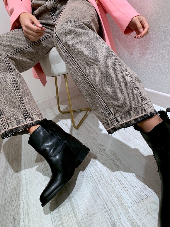 Shop Online Jeans Straight slavato grigio Vicolo